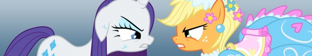 Rarity vs. Applejack